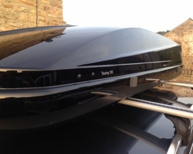 Thule Touring 700 Roof Box Hire • Tynedale Trailer Hire